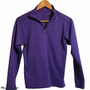 Patagonia youth striped purple long sleeve
